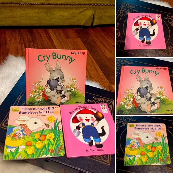 🦋2/$10 3/$15 4/$18 5/$20 Vintage 80s Easter Books